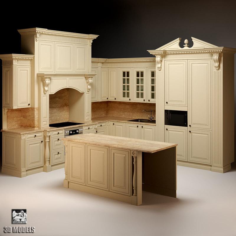 kitchen neff 3d model