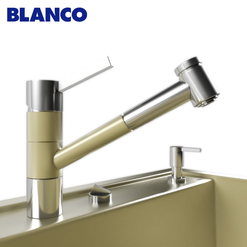 BLANCO DALAGO 8 and mixer BLANCO TIVO-S
