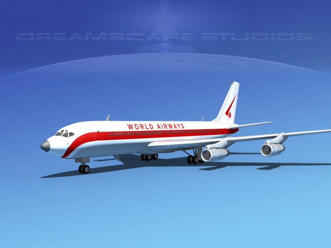707-320 airlines boeing 707 dwg
