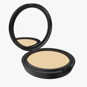 3d model compact powder