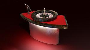 maya casino roulette table