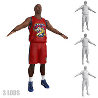 3d max basketball player