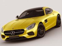 mercedes gt amg 3d model