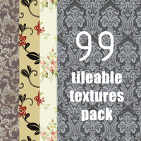 99 seamless wallpapers pack