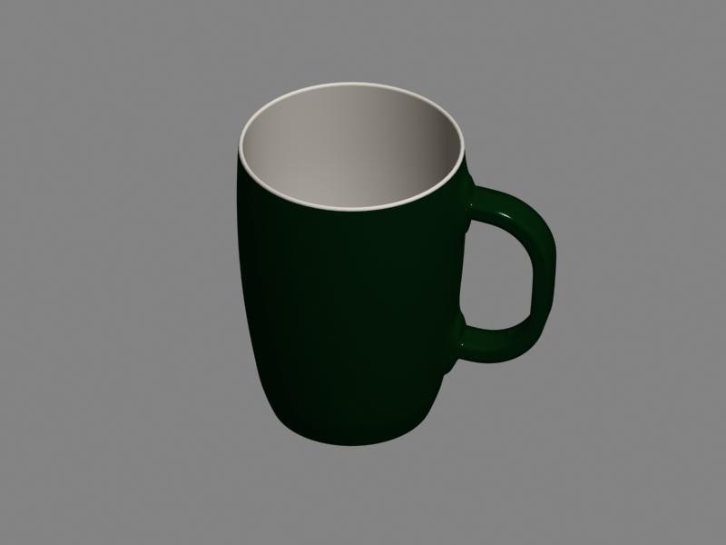 mug materials 2011 3d model