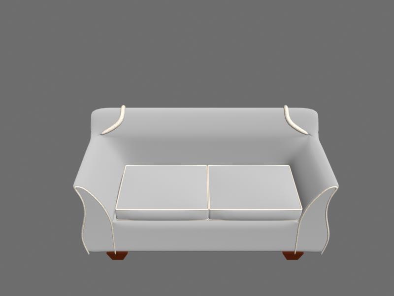 3d sofa materials