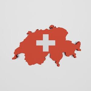 switzerland land 3d max