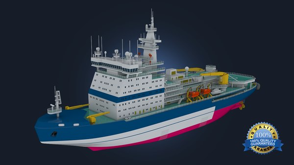icebreaker ice arctic 3d 3ds