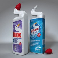 toilet duck bottle
