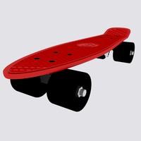 3d model skating board