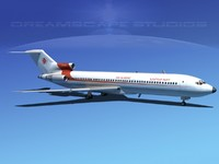 3d boeing 727 727-200 model