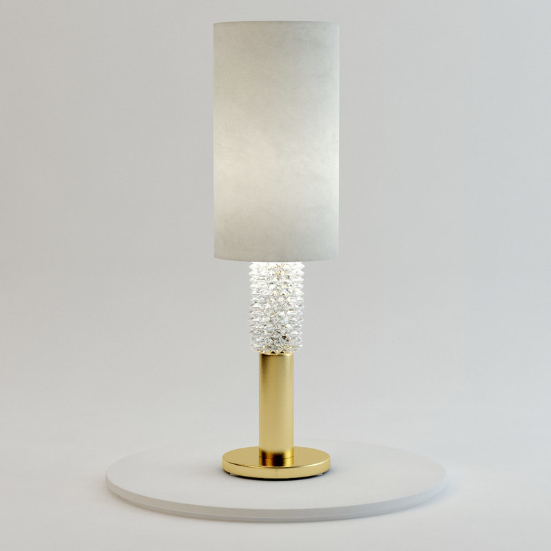 3ds max marilyn table lamp barovier