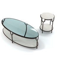 Donghia INYO COCKTAIL OCCASIONAL  Table Set