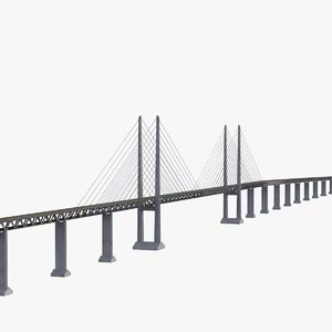 Øresund bridge obj
