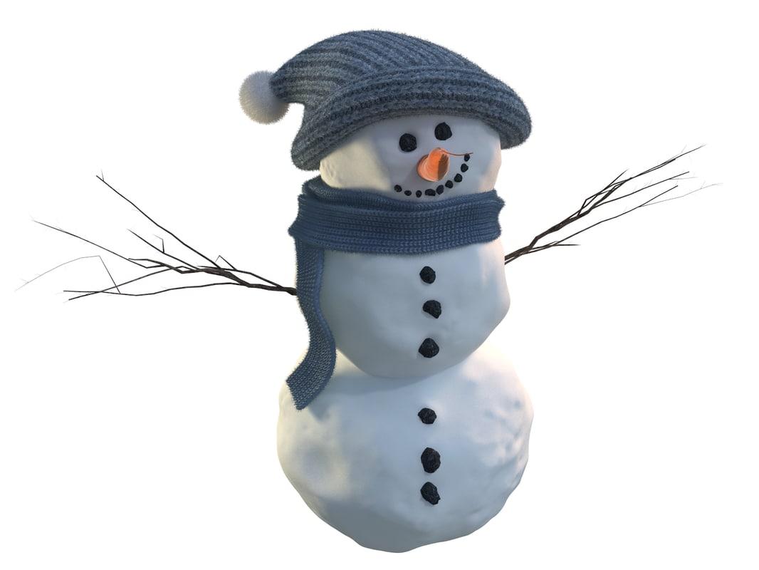 max snowman snow man