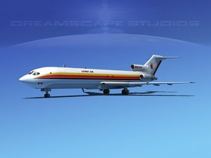 dxf airline boeing 727 727-200