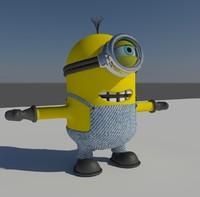 3d minion rendering