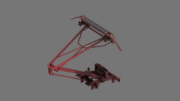 3d model of ac electric locomotives