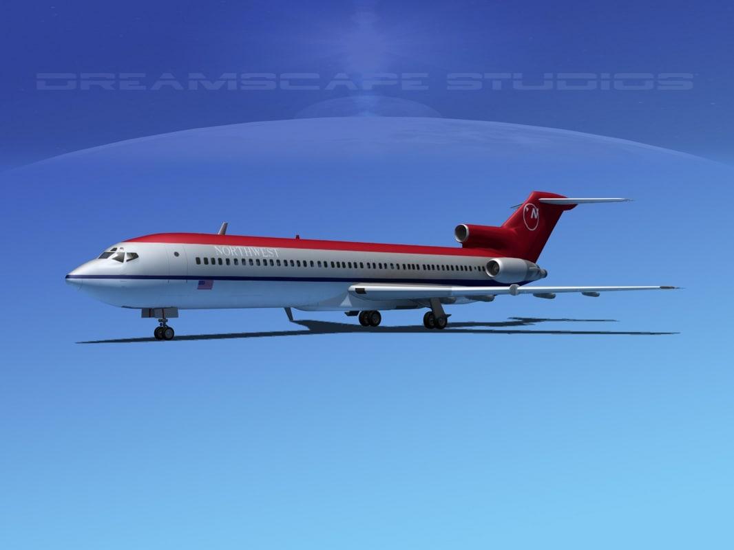 airline boeing 727 727-200 lwo