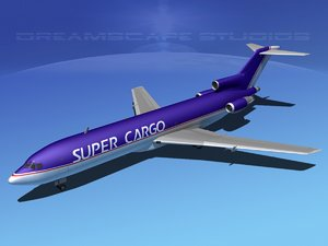 3ds airline boeing 727 727-200