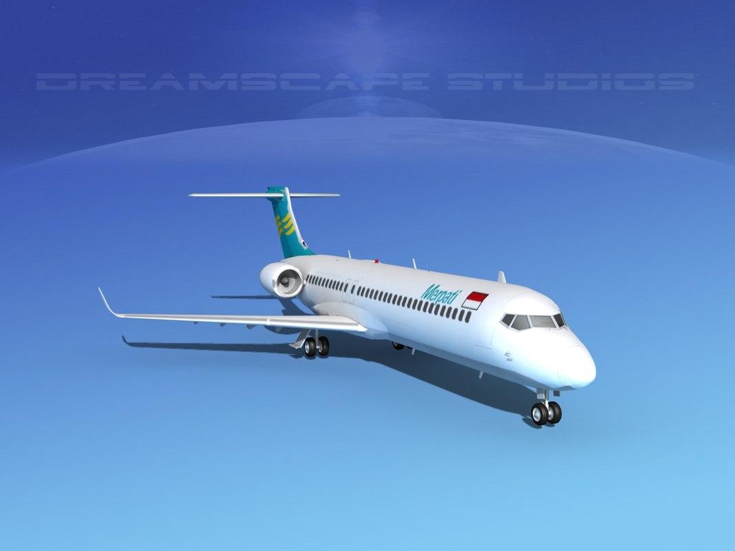 3d dwg comac arj21 airliner arj21-700