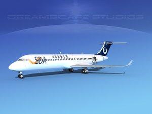 dwg comac arj21 airliner arj21-700