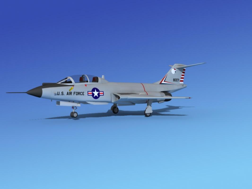 3ds f-101 voodoo jet fighters