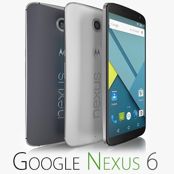 nexus 6 obj