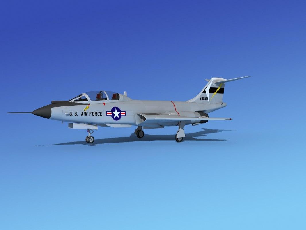 max f-101 voodoo jet fighters