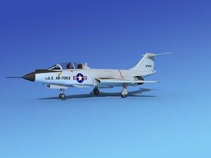 dwg f-101 voodoo jet fighters