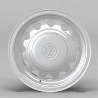 3d model volkswagen rim wheel m