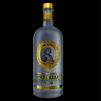 vodka imperial 3d model