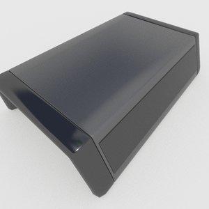 mediabox media 3d model