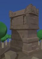 Roman tomb