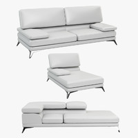 bently sofa seams 3d max