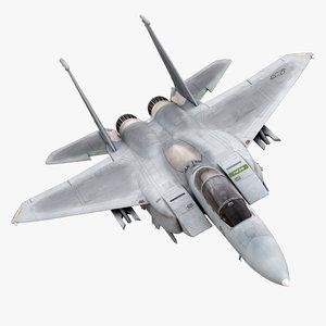 3dsmax f-15 strike eagle fighter