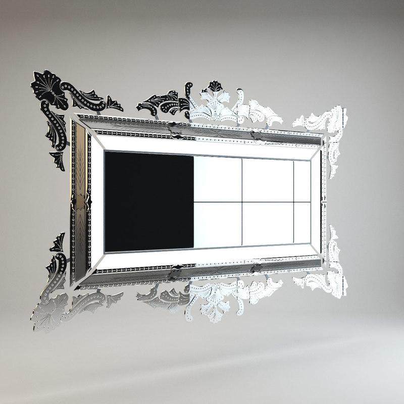 barokko queen mirror andromeda max
