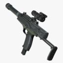 Machine Pistol 3D models