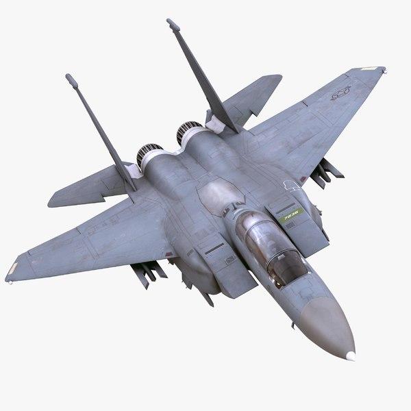 3d 3ds f-15e strike eagle