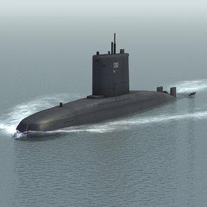 3ds ula attack submarine