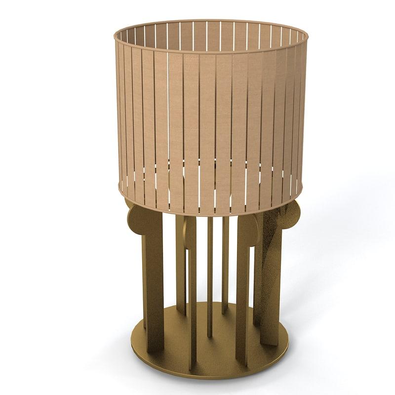 max table lamp art