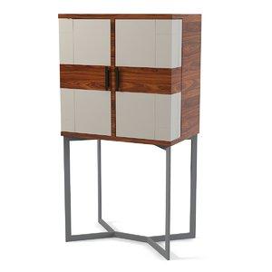 3d mobilidea bogart cabinet