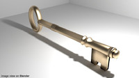 3d skeletonkey passingkey model