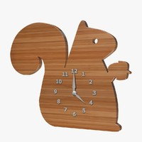 3ds max squirrel clock