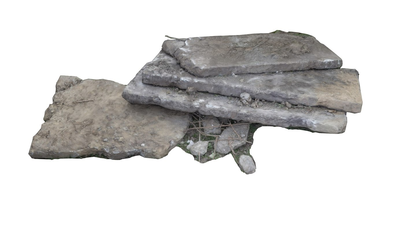 3d concrete slabs