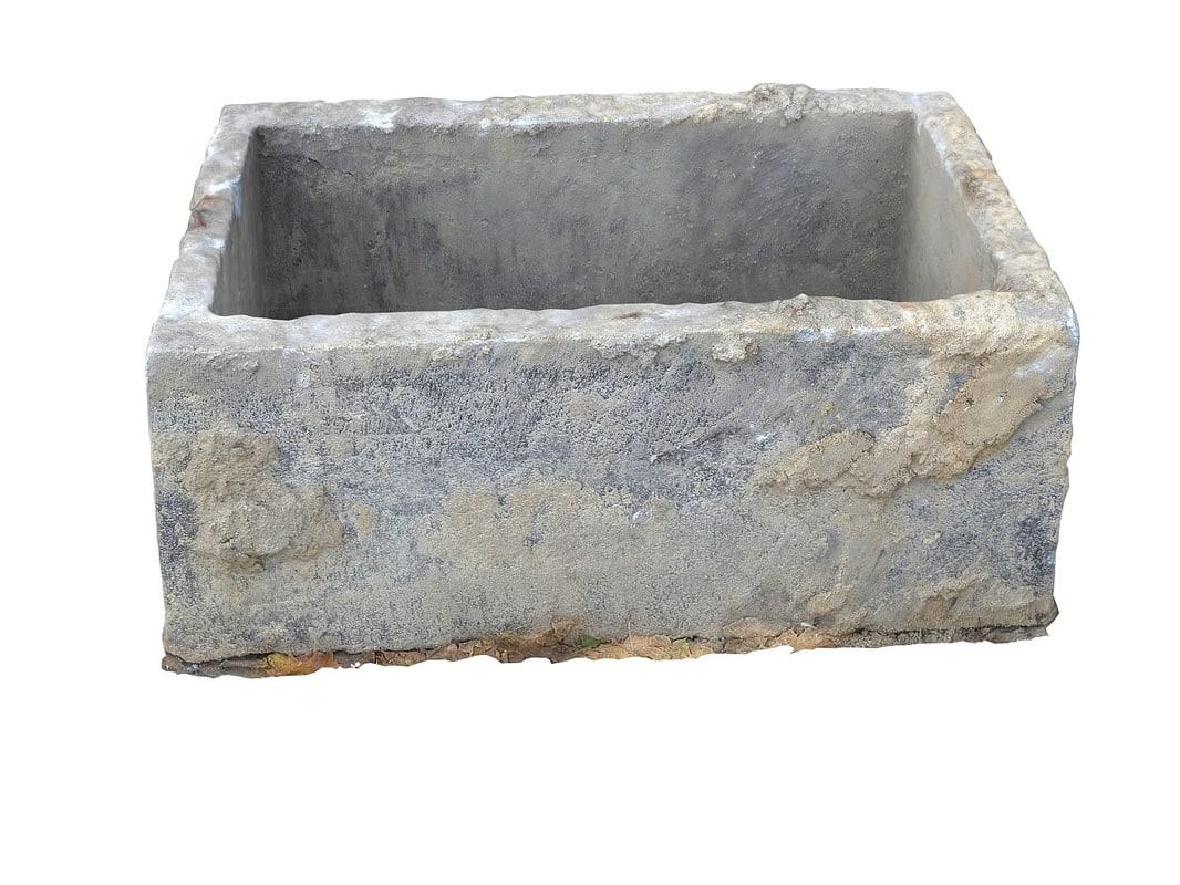obj concrete trough 2