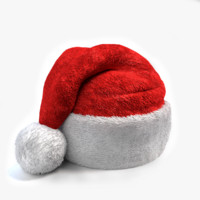 3d santa hat