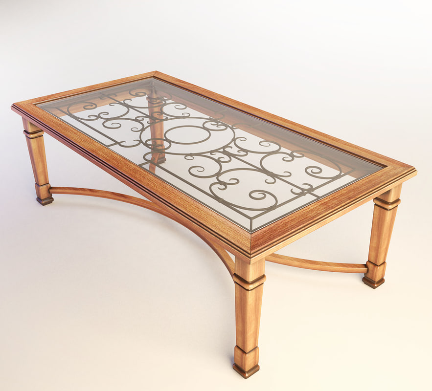 3d model of coffe table