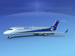 dxf comac airliner