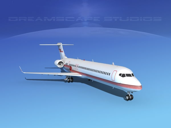 3d comac xiangfeng twin model